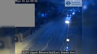 London: A Upper Rmond Rd/East Sheen Ave - Actuelle