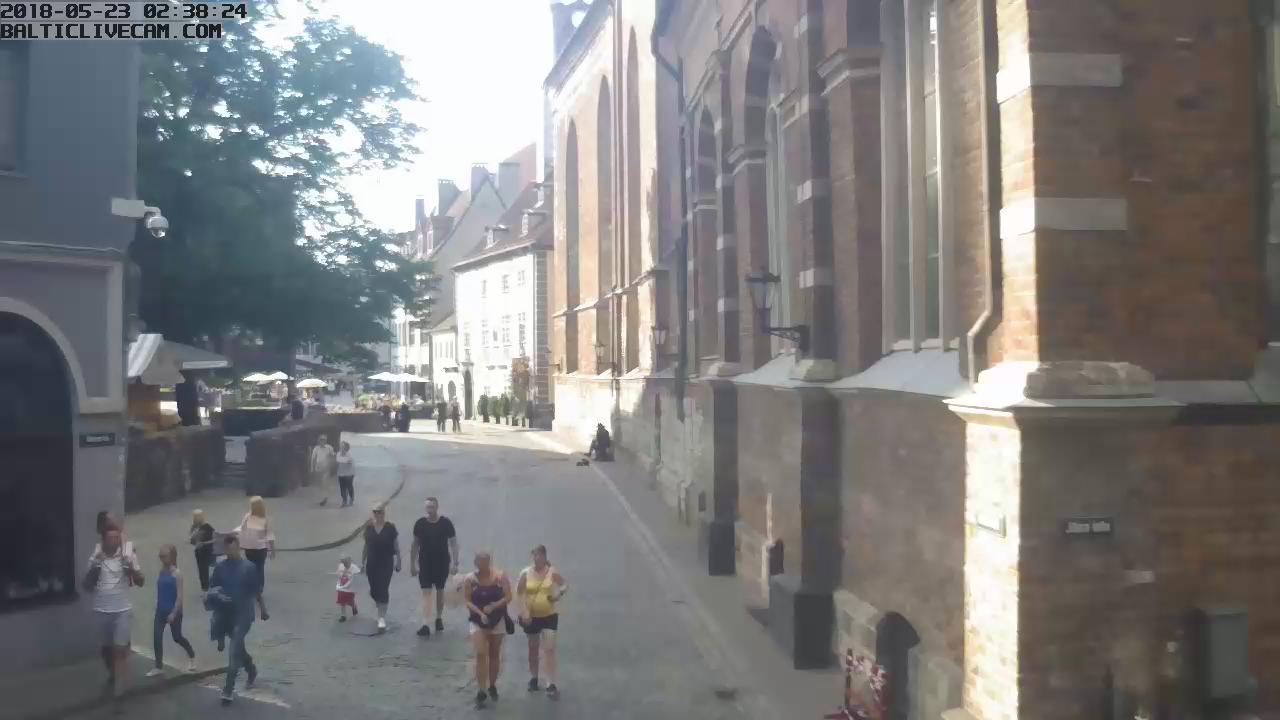 Webkamera Riga: Old Town − Skārņu Street