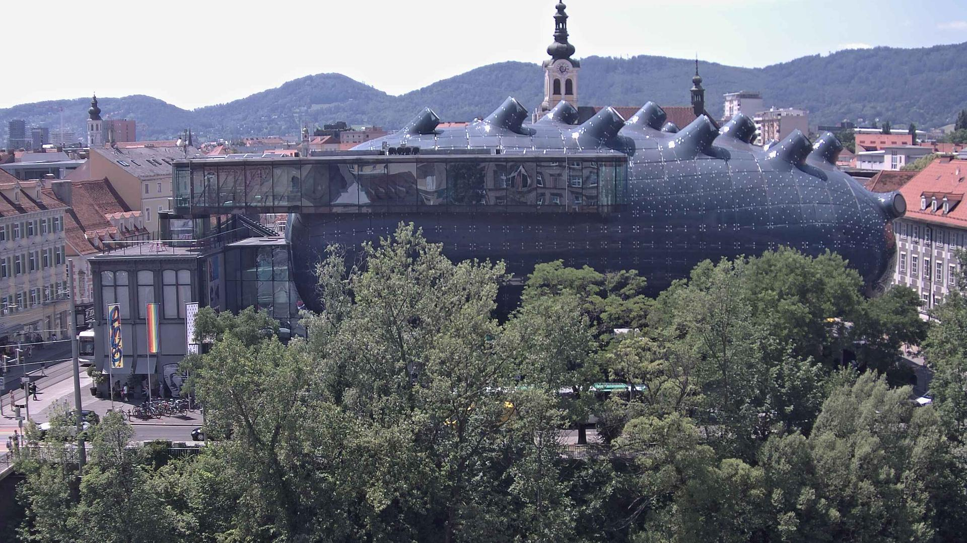 Webcam Graz: Kunsthaus