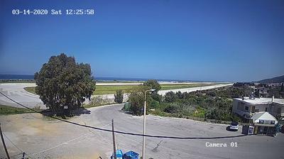 Tageslicht webcam ansicht von Rhodes International Airport › North West: Rhodes International Airport