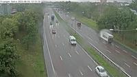 Hagersten-Liljeholmens stadsdelsomrade: Fru�ngen s�dra (Kameran �r placerad p� E/E S�dert�ljev�gen i h�jd med Fru�ngen och �r riktad mot Stockholm) - Day time