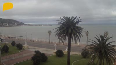 Current or last view from Piriapolis › West: Piriápolis