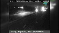 Oceanside › East: EB  at Melrose Rd - Overdag