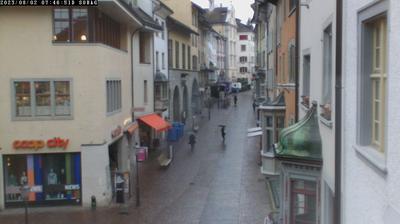Thumbnail of Schaffhausen webcam at 3:08, Oct 18