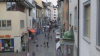 Schaffhausen: Vordergasse - Overdag