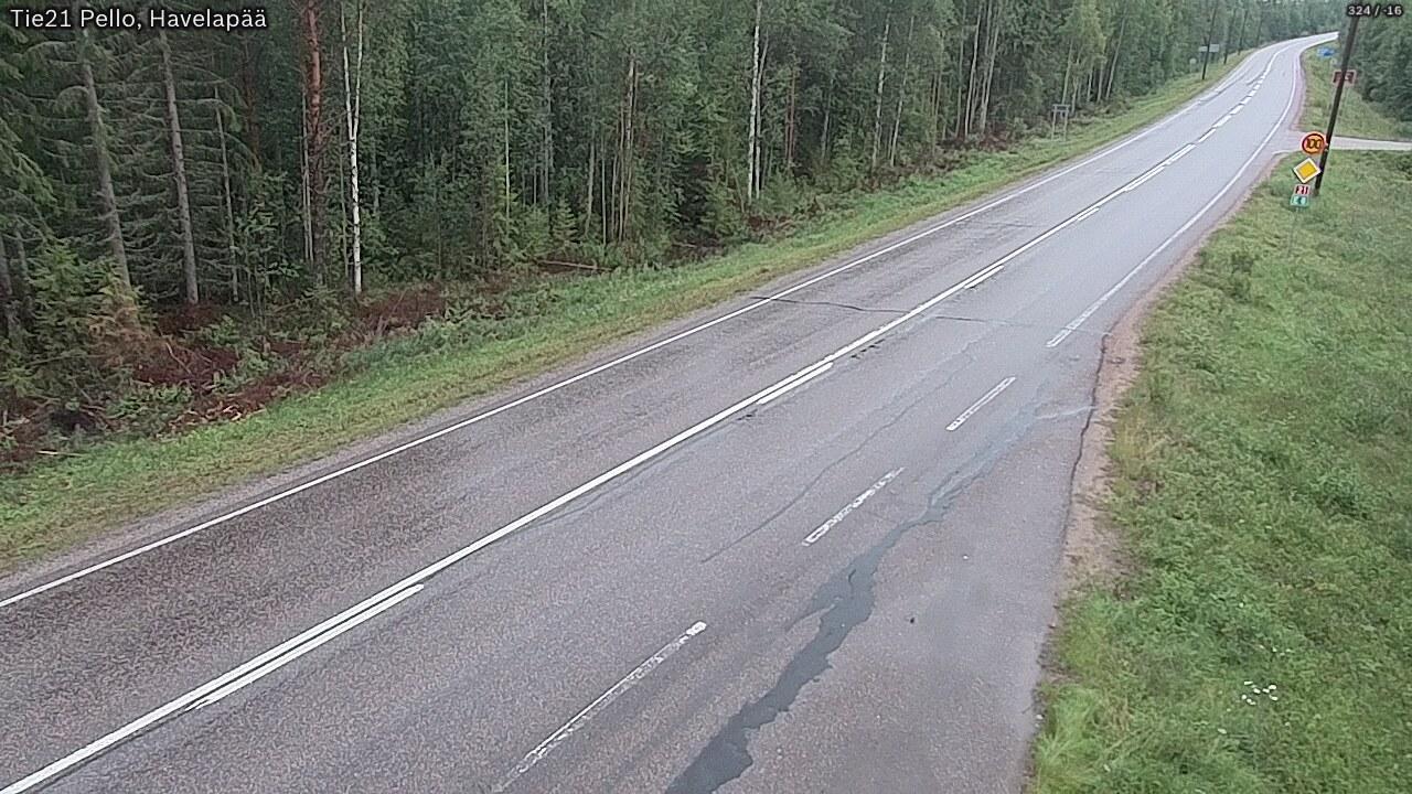 Webcam Pello: Tie21 − Kilpisjärvelle