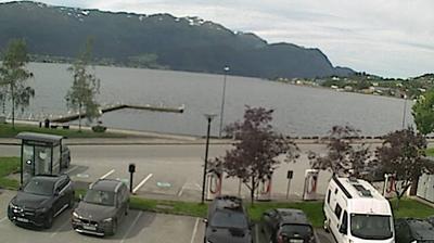 Vista de cámara web de luz diurna desde Sandane