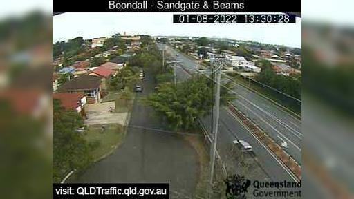 Webcam Boondall: Sandgate Road and Beams Road (South)