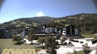 Ultima vista de la luz del día desde Kleinboden: WohlfühlHotel Schiestl Wettercam