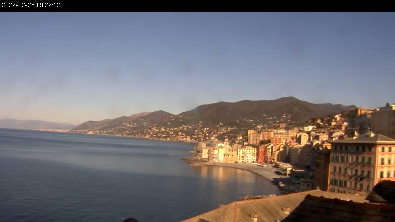 Webcam Camogli: Portofino − Hotel Cenobio dei Dogi