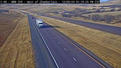 Webkamera Oacoma: SD DOT webcam near Chamberlain, SD