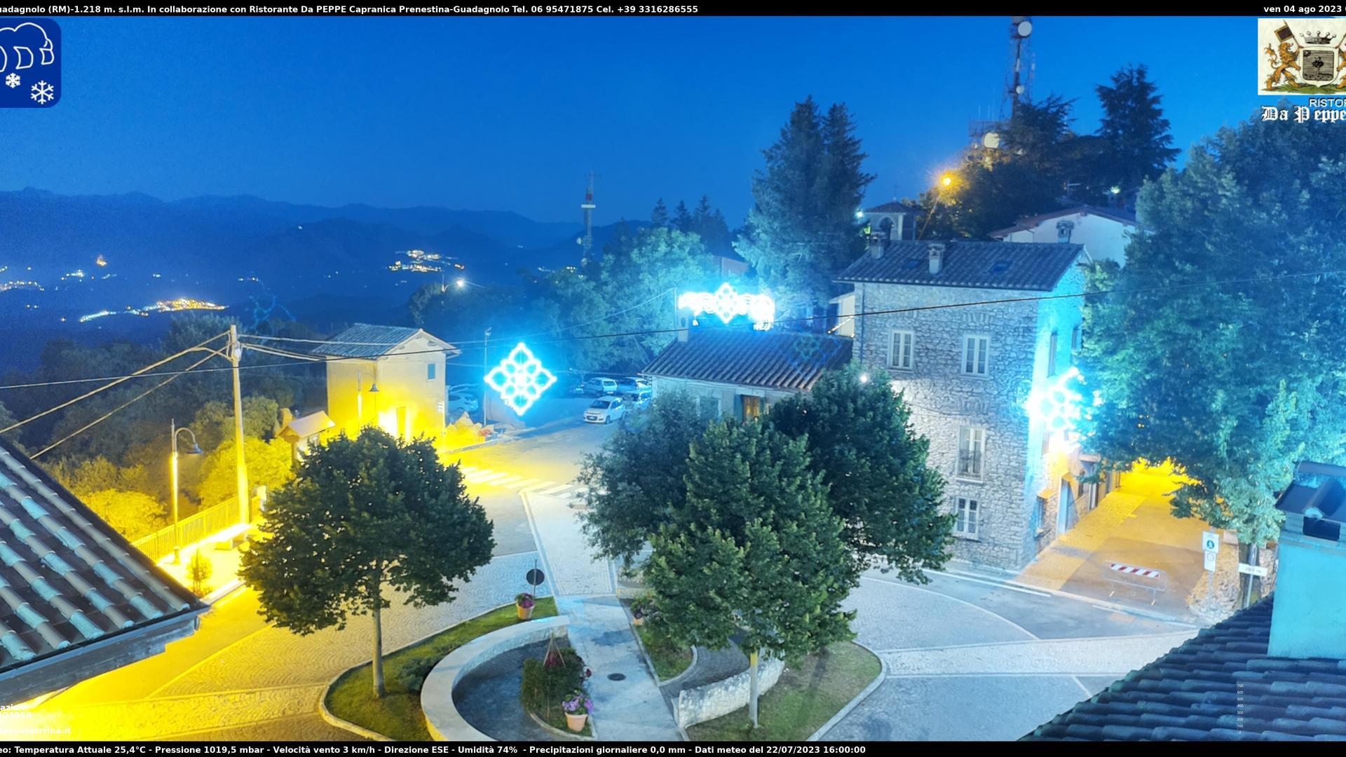 Webcam Guadagnolo: Monte − Capranica Prenestina