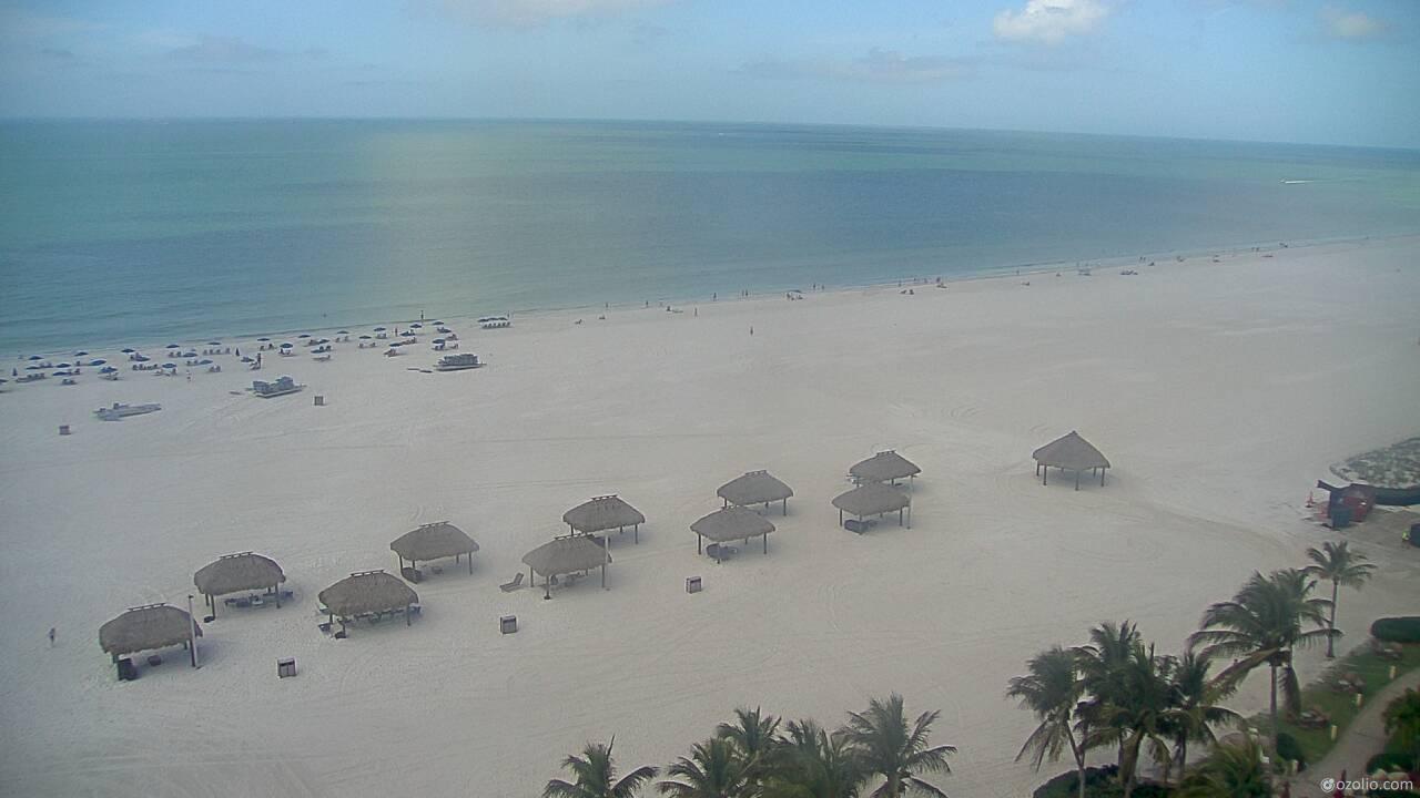Webcam Marco Island: Marriott, Beach Cam