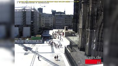 Cologne: Roncalliplatz - Cologne Cathedral - Domplatte