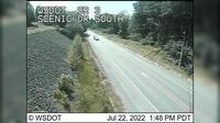Poulsbo > South: SR  at MP .: Scenic Dr Looking South - Overdag