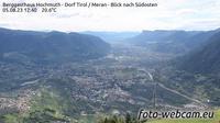 Tirol - Tirolo: Berggasthaus Hochmuth - Dorf - Meran - Blick nach S�dosten - Overdag