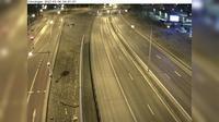 Tveta: Viksängen (Kameran är placerad på E/E Södertäljevägen mellan Motorvägsbron och trafikplats Moraberg och är riktad mot Stockholm) - Dagtid