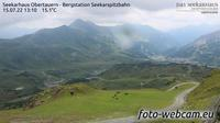 Obertauern: Seekarhaus - Bergstation Seekarspitzbahn - El día