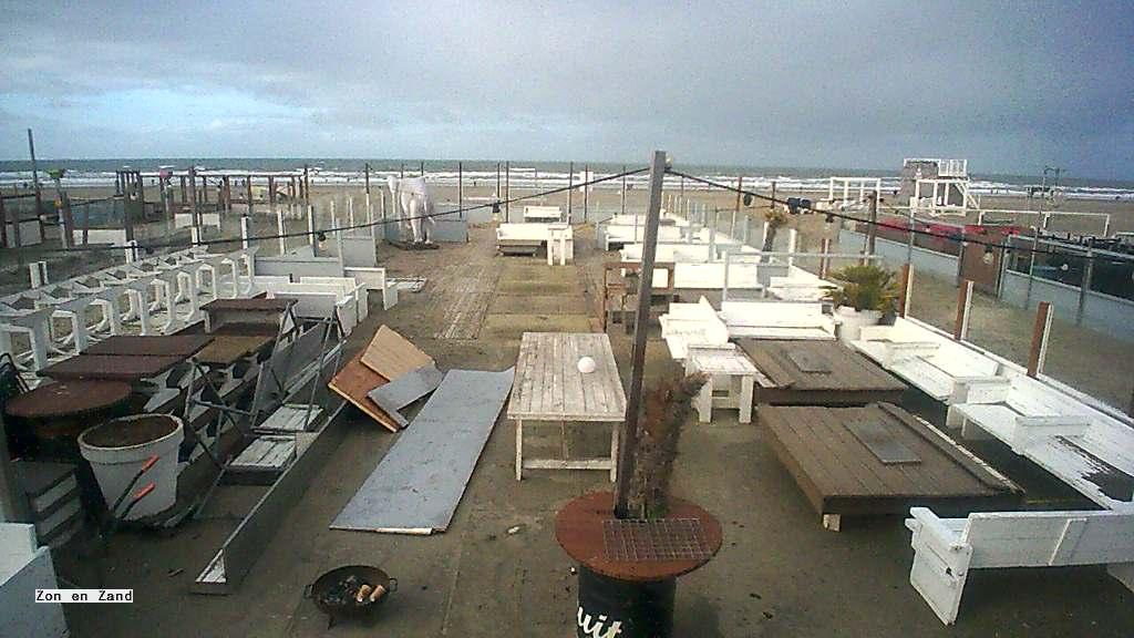 Webcam Hoek van Holland: Zon en Zand