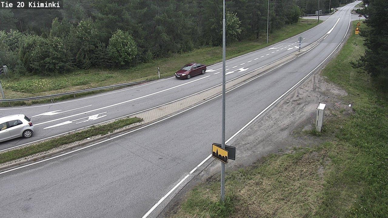 Webcam Oulu: Tie 20 Kiiminki − st848_Alakylä