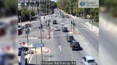 Tageslicht webcam ansicht von South East London: Eltham Rd/Sidcup Rd
