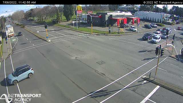 Webcam Hornby › West: SH1 Goulding Ave, Christchurch