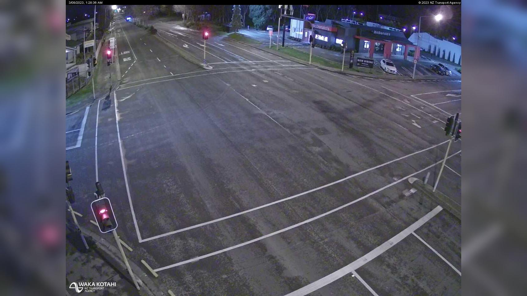 Webkamera Hornby › West: SH1 Goulding Ave, Christchurch