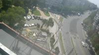Buzau: Bulevardul Unirii, Aleea Trandafirilor - El día
