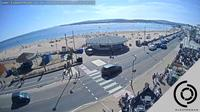 East Devon: The Exmouth Seafront Beach Webcam - Live Streaming Interactive Webcam - Recent