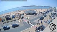 East Devon: The Exmouth Seafront Beach Webcam - Live Streaming Interactive Webcam - Overdag