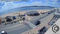 East Devon: The Exmouth Seafront Beach Webcam - Live Streaming Interactive Webcam - El día