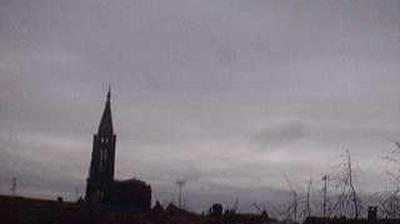 Vue webcam de jour à partir de Strasbourg: Cathédrale de