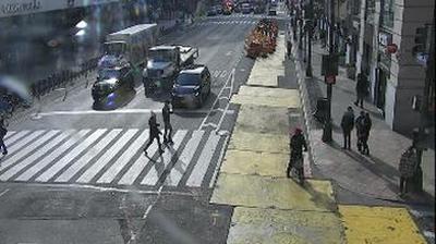 Vista de cámara web de luz diurna desde Manhattan Community Board 4: th Avenue @ th Street