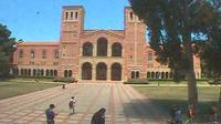 Los Angeles: UCLA BruinCam - Live view of Dickson Plaza and Royce Hall - Overdag