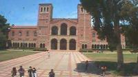 Los Angeles: UCLA BruinCam - Live view of Dickson Plaza and Royce Hall - Day time