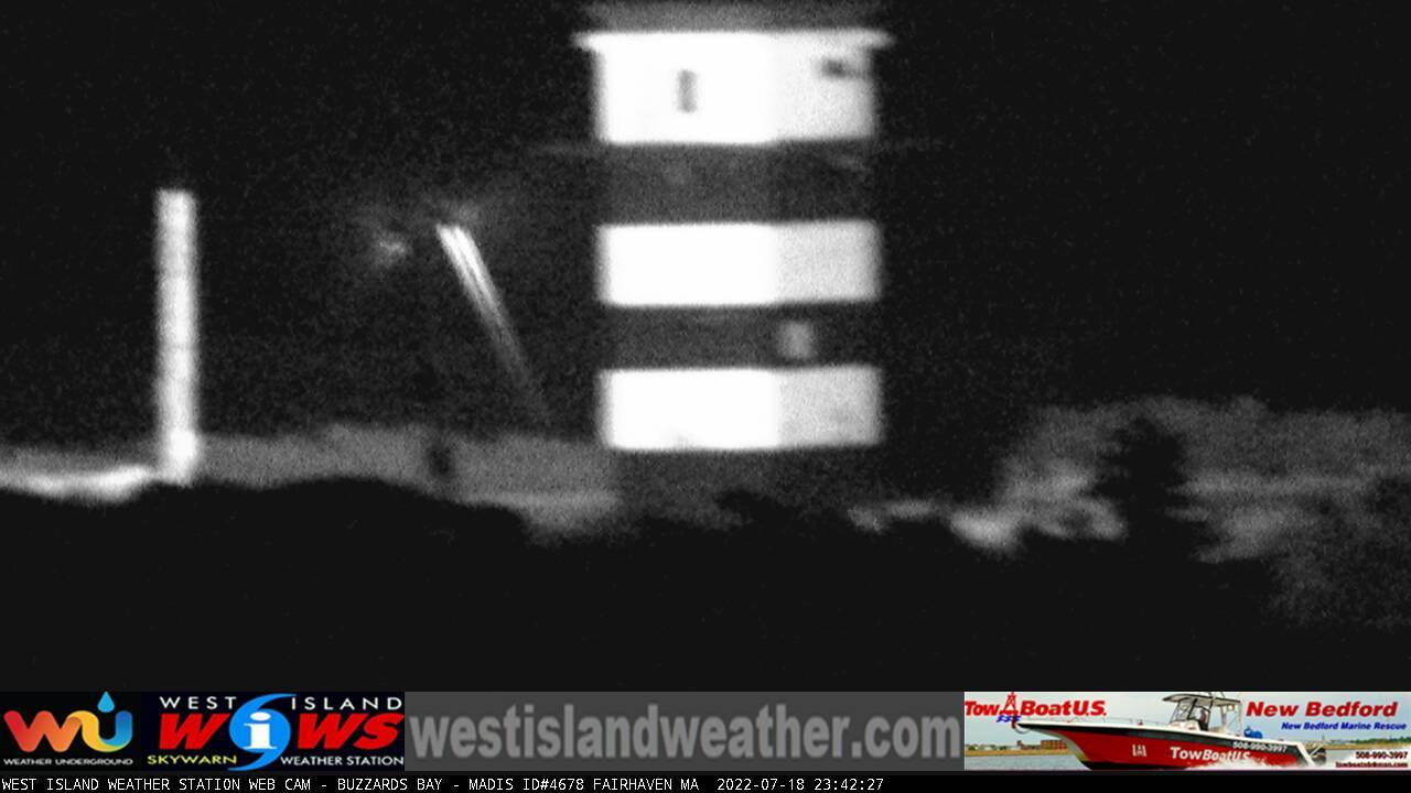 Webcam Buzzards Bay: West Island − Fairhaven, MA