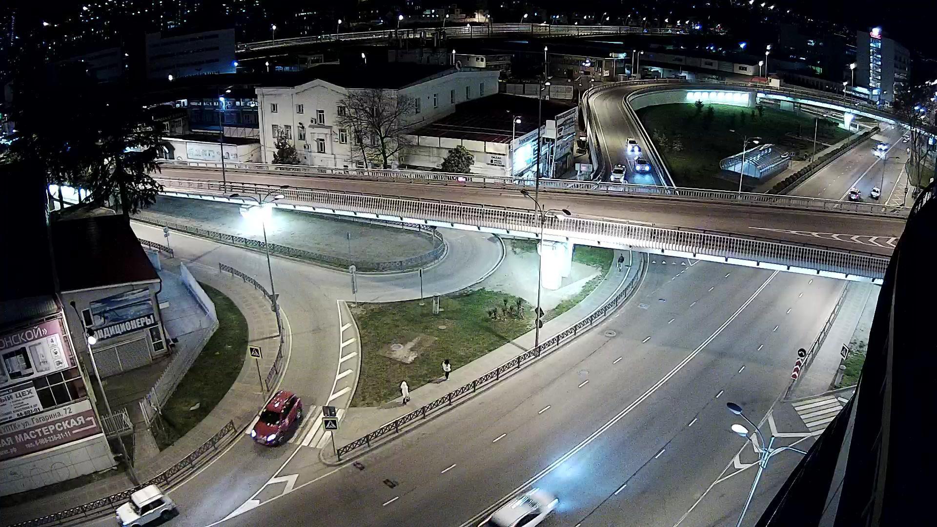 Webkamera Areda: Перекресток Гагарина/Донская г. Сочи