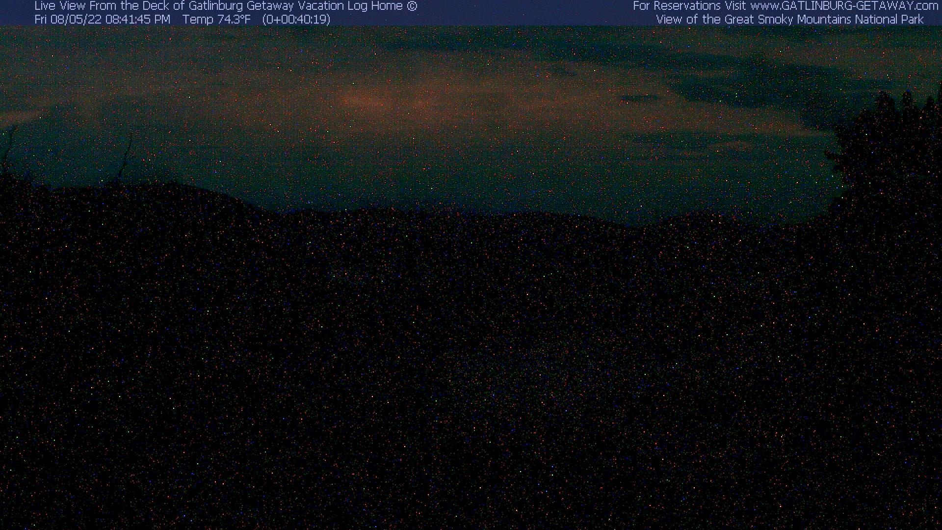 Webcam Gatlinburg: Great Smoky Mountains National Park