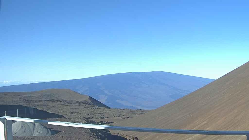 Webcam Hanaipoe: Mauna Loa Mt. (looking to South from Mau