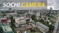 "Sochi: Панорама с жилого комплекса ""Парк Горького"" г. Сочи"