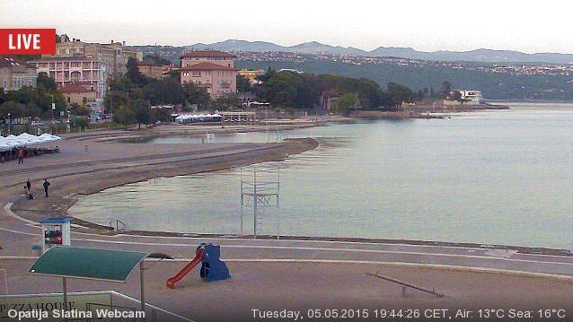 Webcam Slatina: Opatija