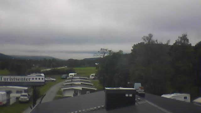 Webcam Grimsbu: Turistsenter, View of Rondane