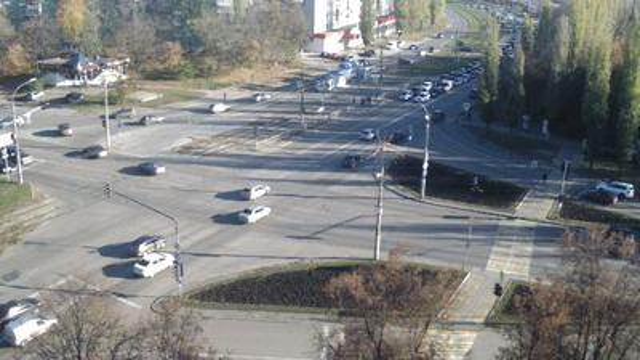 Webcam Мирный: Перекрёсток ул.Циолковского и ул.Космонавт
