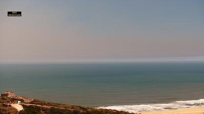 Vista de cámara web de luz diurna desde Nazaré: Nazarè praia do norte (LiveHD)