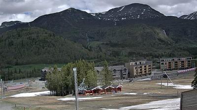 Webkamera Hemsedal: Alpin Lodge og − Fjellandsby