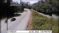 Port Gamble: SR  at MP .: Wheeler St Looking West - Actuales