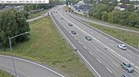 Viggby kulle 1: Trafikplats H�gern�s (Kameran �r placerad p� E Norrt�ljev�gen i h�jd med trafikplats H�gern�s och �r riktad mot Stockholm) - Overdag