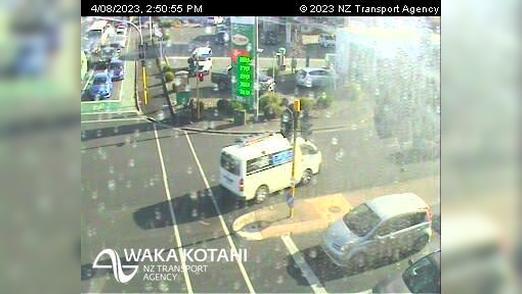 Webkamera Claudelands › North: SH1/SH23 Massey St Intersecti