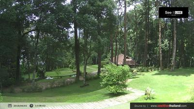 Daylight webcam view from บ้านดอยสุเทพ: National Park Doi Suthep Pui − View Point