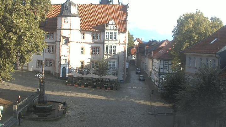 Webcam Alfeld (Leine): Alfeld − Marktplatz